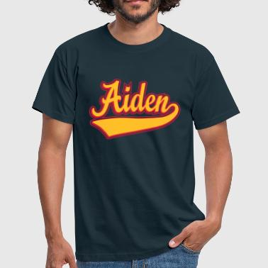 Aiden Aiden - The name as a sport swash - Men's T-Shirt