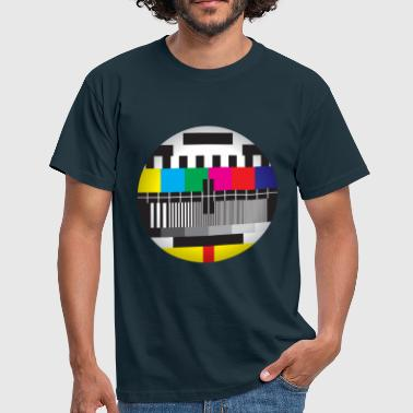 Test Television Test Card - Men's T-Shirt