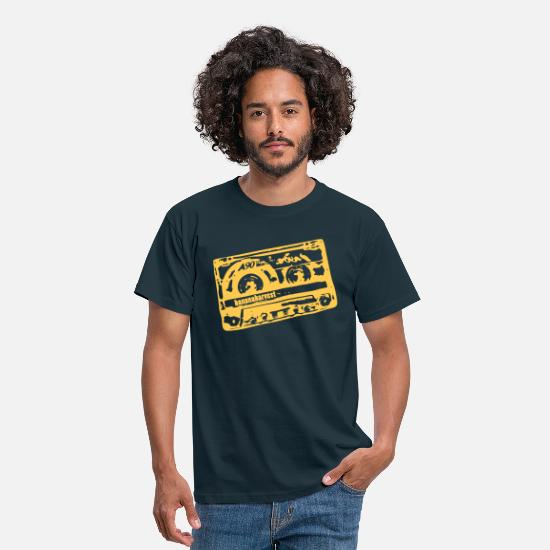 70s T-Shirts - bananaharvest - tape - Men's T-Shirt navy