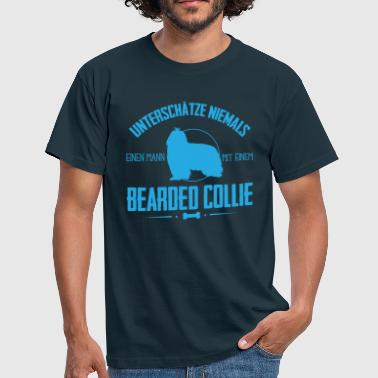 UNM Bearded Collie Shirt - Männer T-Shirt