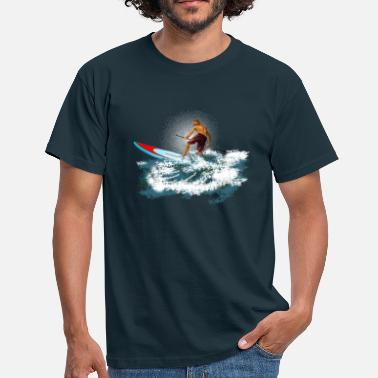 Stand paddleboarder - Men's T-Shirt