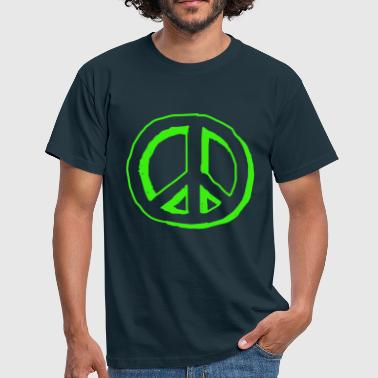 Human Rights Peace Freedom No Human Rights - Mannen T-shirt