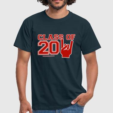 Class Of 2011 Red White EU - Men's T-Shirt