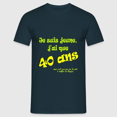 tee shirts anniversaire 40 ans commander en ligne spreadshirt. Black Bedroom Furniture Sets. Home Design Ideas