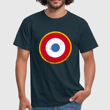 Aviation Cocarde cocarde France the who - les qui - T-shirt Homme