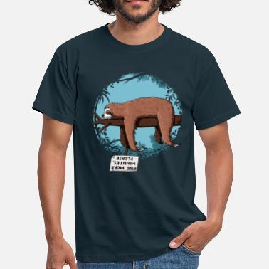 Funny Sloth Sloth - Men's T-Shirt