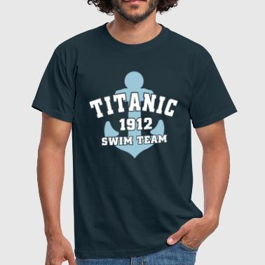 Titanic 1912 SwimTeam - Mannen T-shirt