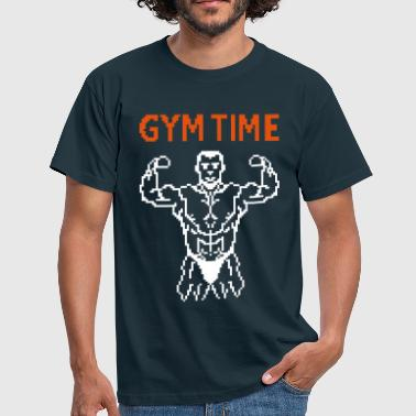 Lo�c gym time pixelart - Men's T-Shirt