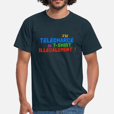 Illegal T-shirt illégal - T-shirt Homme
