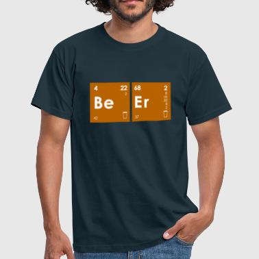Chemical Beer Elements - Men's T-Shirt