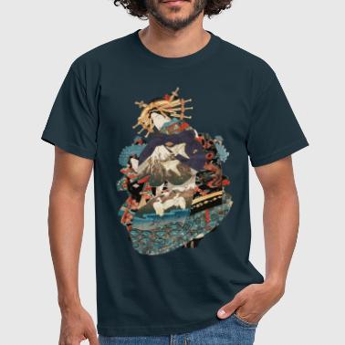 Samurai Art Geisha 1 - Men's T-Shirt