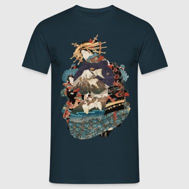 Geisha 1 - Men's T-Shirt
