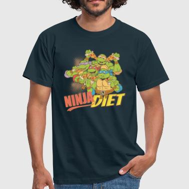 Tortues Ninja Pizza Base D'Alimentation - T-shirt Homme