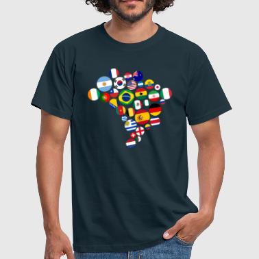 Nation Nations   - Men's T-Shirt
