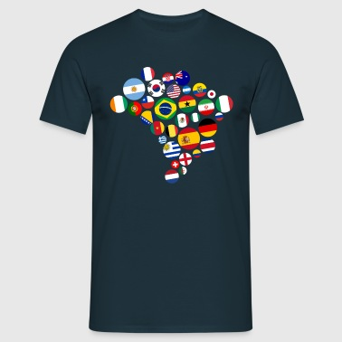 Nations   - Men's T-Shirt