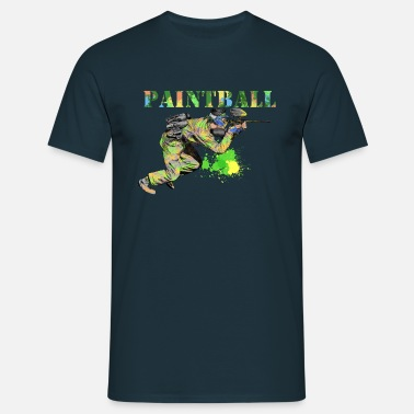 Paintball paintball - Mannen T-shirt