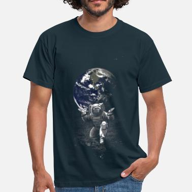 Spaceman - Herre-T-shirt