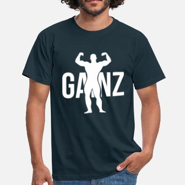 Funny Gym Gainz silhouette - T-shirt Homme