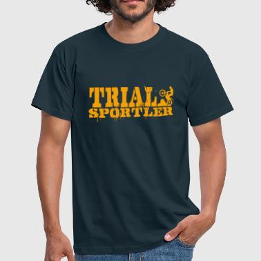Trial Sport Trial Athletes Gold - Men's T-Shirt