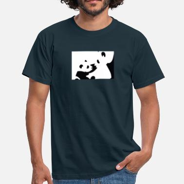 Panda Design Panda Black And White Design - Men's T-Shirt