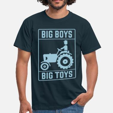 Traction Engine Big Boys – Big Toys (Tractor / Traction Engine) - Men's T-Shirt