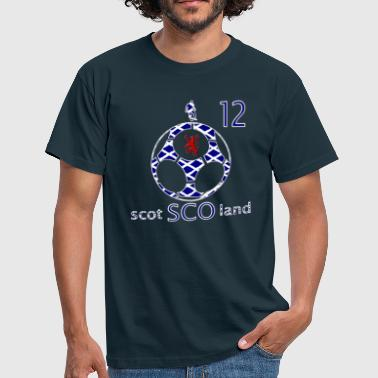 scotland football fans design 12 - Men's T-Shirt