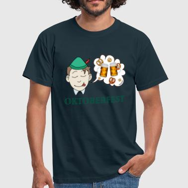 Dreams of a man - Oktoberfest - Men's T-Shirt