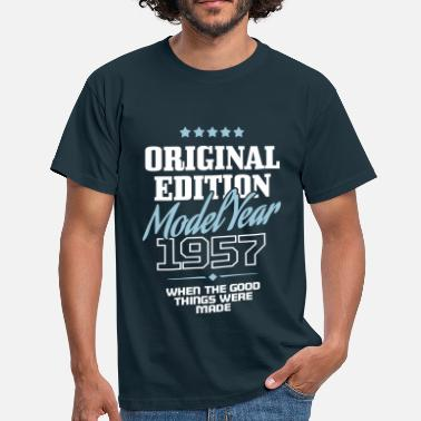 Birth Year Original Edition - Model Year 1957 - Men's T-Shirt