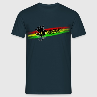 reggae roots - T-shirt herr
