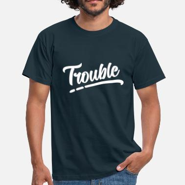 Partnerlook Zwillinge Trouble Maker No1 Partnerlook - Männer T-Shirt