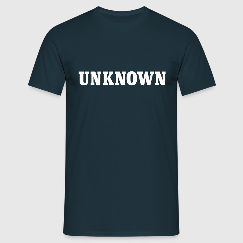 unknown - Männer T-Shirt