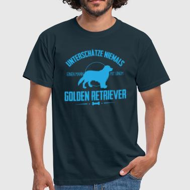 UNM Golden Retriever Shirt - Männer T-Shirt