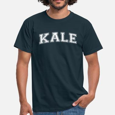 Yale Kale lettering as at the American college - Men's T-Shirt