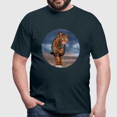 Chat sauvage - T-shirt Homme