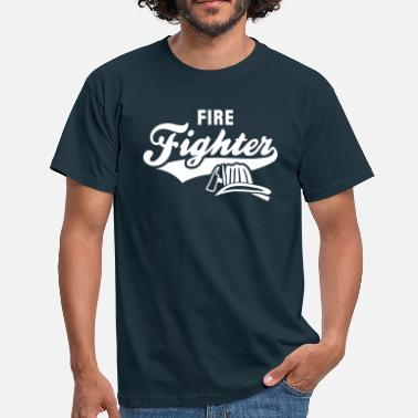Fire Brigade Firefighter - Men's T-Shirt