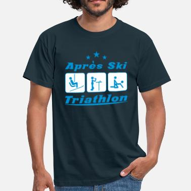 Apres-ski Apres Ski Triathlon - Men's T-Shirt