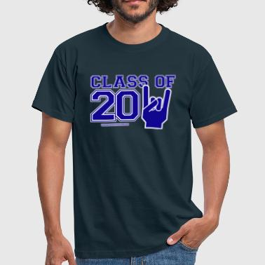 class of 2011 blue white eu - Men's T-Shirt