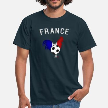 Coq France football french rooster - T-shirt Homme