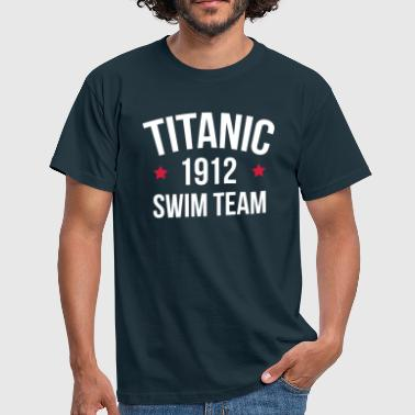 Titanic Swim Team  - Herre-T-shirt
