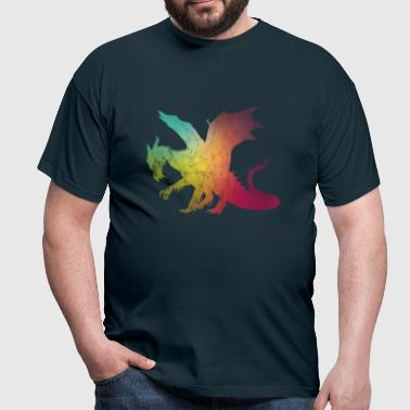 blurred dragon - Men's T-Shirt