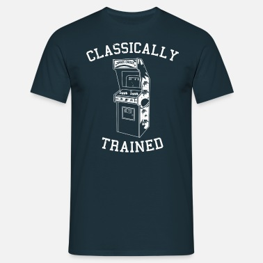 Arcade Game Classically Trained - Arcade - Men's T-Shirt