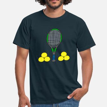 Racket tennis - Men's T-Shirt