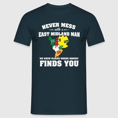 Countries East Midland - Men's T-Shirt