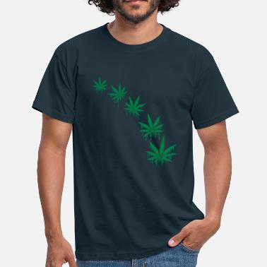 Weed Cannabis Weed Graffiti Style - Mannen T-shirt