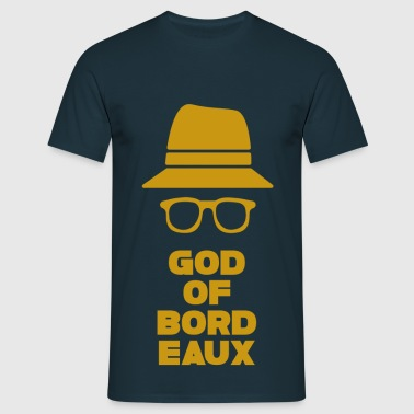 Aquitaine Gironde Bordeaux 33 God of Bordeaux 2 - T-shirt Homme