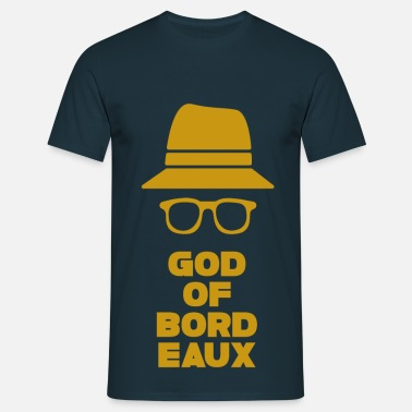 Talence Aquitaine Gironde Bordeaux 33 God of Bordeaux 2 - T-shirt Homme