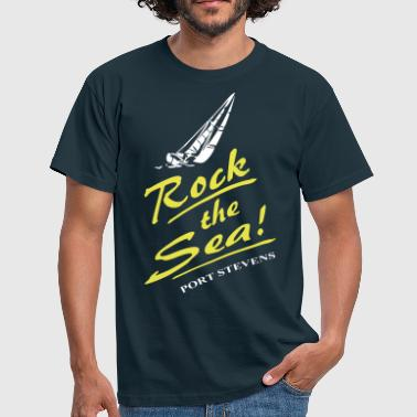 Rock the Sea - Segelboot - Männer T-Shirt