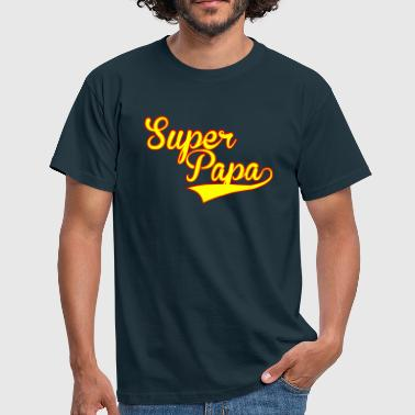 super papa - Mannen T-shirt
