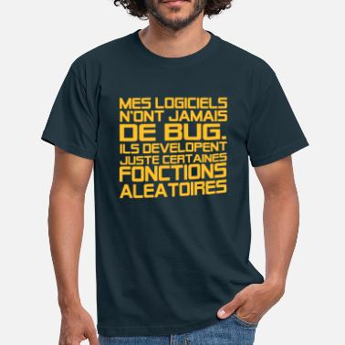 Humour Informatique citations geek,message,humour,informatique - T-shirt Homme