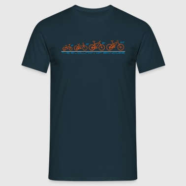 The Evolution of Bicycles - Men's T-Shirt